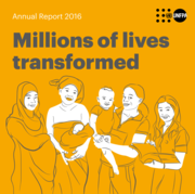 Annual Report 2016: Millions of lives transformed